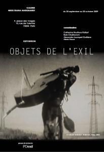 Exposition «Objets de l'exil / Objets en exil»