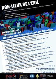 Non-Lieux de l'exil, Programme 2011-2012