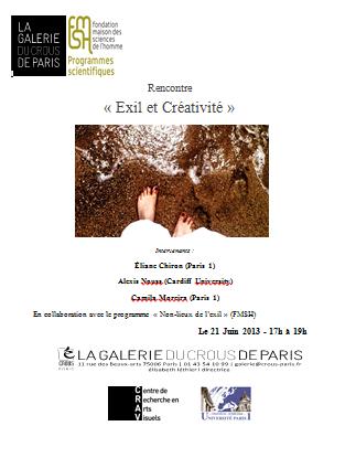 exil et créativité