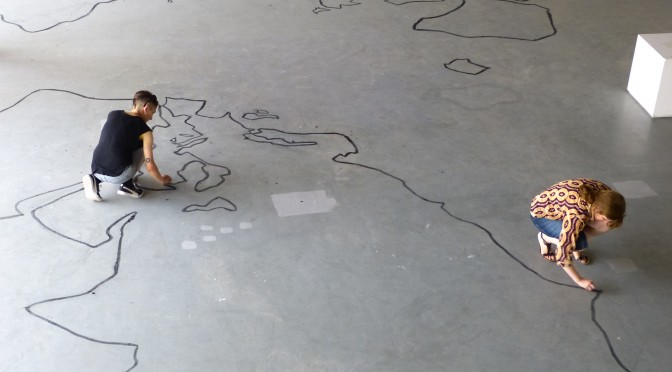 15 octobre 2015. Moving Matters Traveling Workshop & Non-lieux de l'exil